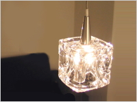 GLASS CUBE LAMP(1灯)